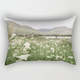 Castle in the highlands Rectangular Pillow