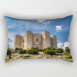 Castel del Monte Rectangular Pillow