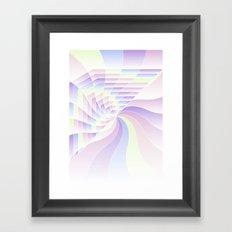 Cotton Candy Dream Framed Art Print