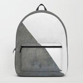 Concrete Vs White Backpack