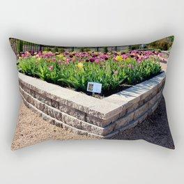 """Muscogee (Creek) Nation - Honor Heights Park Azalea Festival, Tulip """"Critical Mass"""" Rectangular Pillow"""