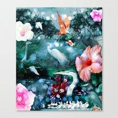 Mystical Morning Canvas Print