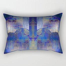 no light without shadow Rectangular Pillow