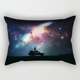 Welcome to Galaxy Adventure Rectangular Pillow