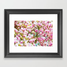 POP Magnolia Framed Art Print