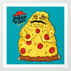 Pizza The Hutt Art Print
