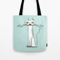 The Cat's Whiskers Tote Bag