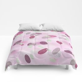 Pink coral dots Comforters