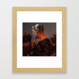 THOUGHTS ∀ Framed Art Print