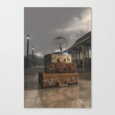 Traveling Canvas Print