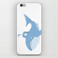 Whale Sub iPhone & iPod Skin