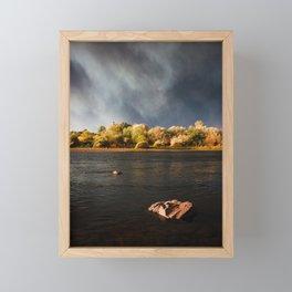 Wildfire Sunset Framed Mini Art Print