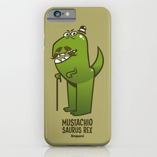 Mustachio Saurus Rex iPhone & iPod Case