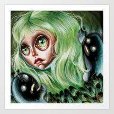 Mother of Spirits :: Pretty Little Scamps Art Print