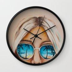 Pacific Beach Wall Clock