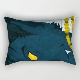 Wagner's Tail Rectangular Pillow