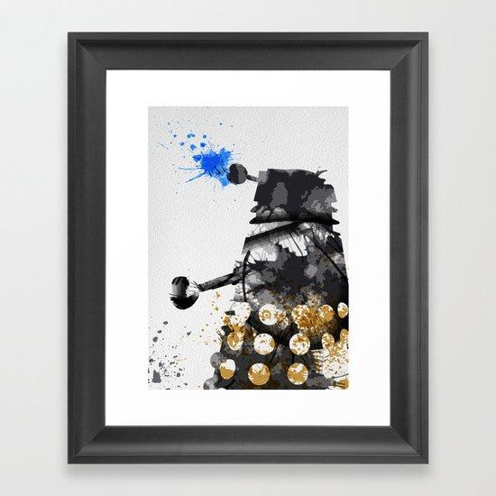 Doctor Who Dalek Framed Art Print
