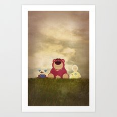 The Tragedy of Lotso Art Print