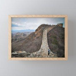 Great Wall of China—Jinshanling Framed Mini Art Print