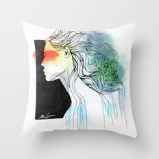 Mother of the Earth Throw Pillow