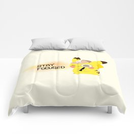 pikapika chu - stay focused Comforters