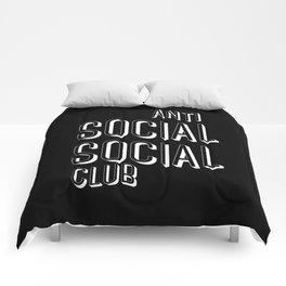 Anti Social Social Club Comforters