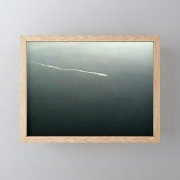 Contrail In Water I Framed Mini Art Print
