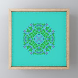 "CA Fantasy ""For Tiffany color"" series #5 Framed Mini Art Print"
