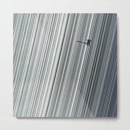 Cassini and Saturn Metal Print
