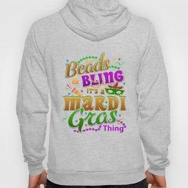 Mardi Gras Parade 2019 Beads Party Shirt Gift Idea Light Hoody