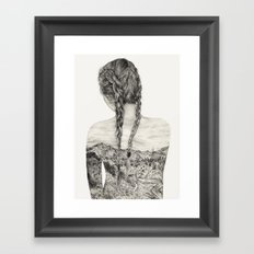 All That Is Left Is The Trace Of A Memory Framed Art Print
