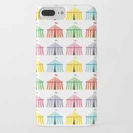colourful circus tents iPhone Case