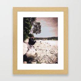 A Friend Who Is Far Away... Framed Art Print