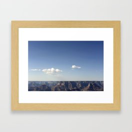 CANYONS AND SKIES Framed Art Print