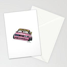 Crazy Car Art 0139 Stationery Cards
