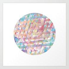 Pinkeye Art Print