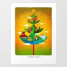 A Very Filipino Christmas Art Print