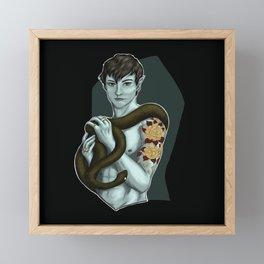 Snake 2 Framed Mini Art Print