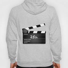 25th Year Clapperboard Hoody