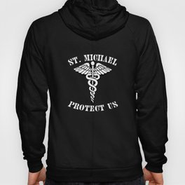 St. Michael Under Body Armor  Hoody