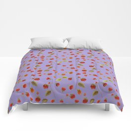 Strawberry Jammin Comforters