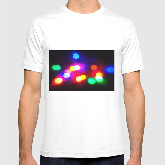 Colourful lights T-shirt