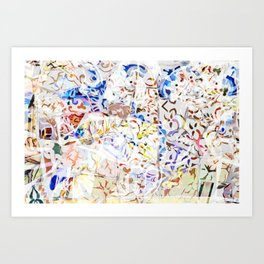 Mosaic of Barcelona VIII Art Print