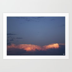 New Mexico Sunset (July 2014) Art Print