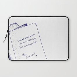 No Room for Doubt Laptop Sleeve