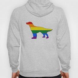 Rainbow English Setter Hoody