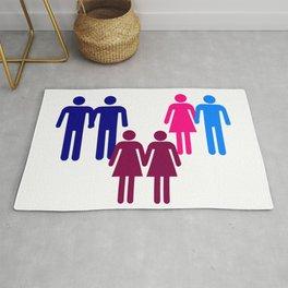 LGBT Couples Rug