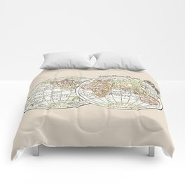 Explore Dream Discover art print Comforters