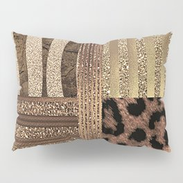 Gold Lioness Safari Chic Pillow Sham