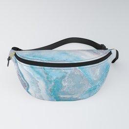 Ocean Foam Mermaid Marble Fanny Pack